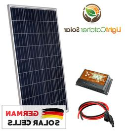 100 Watt Solar Panel Kit RV Kit With Wires, 100W for RV SHED