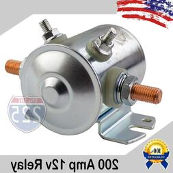200 AMP High Current Automotive Relay Car Dual Battery Isola