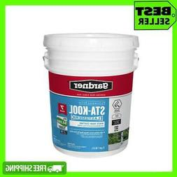 Elastomeric White Reflective 5 Gal Roof Coating RV Rubber Me