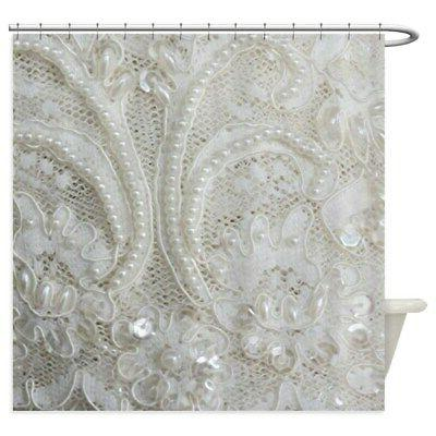 boho chic french lace shower curtain 1820830878
