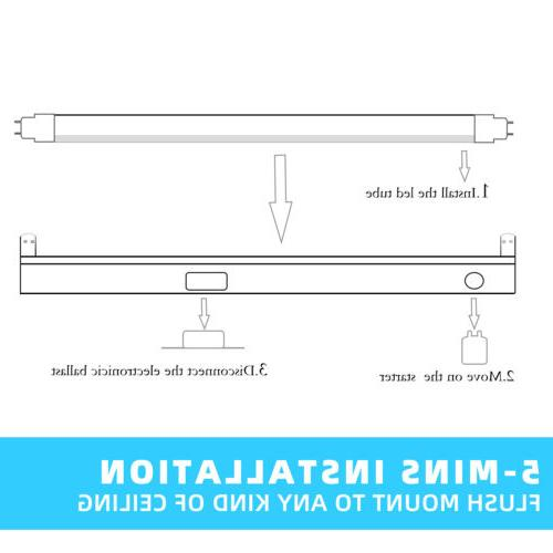 F15T8/CW LED Replacement 5500K RV Marine