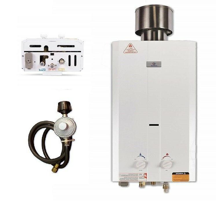 on demand water heater propane outdoor tankless