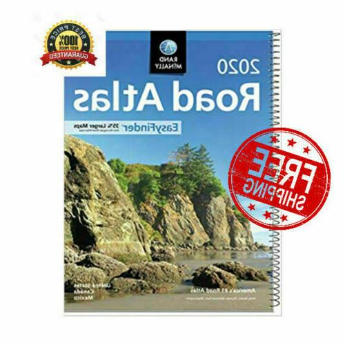 Rand Mcnally USA Road Atlas 2020 BEST Large Scale Travel Map