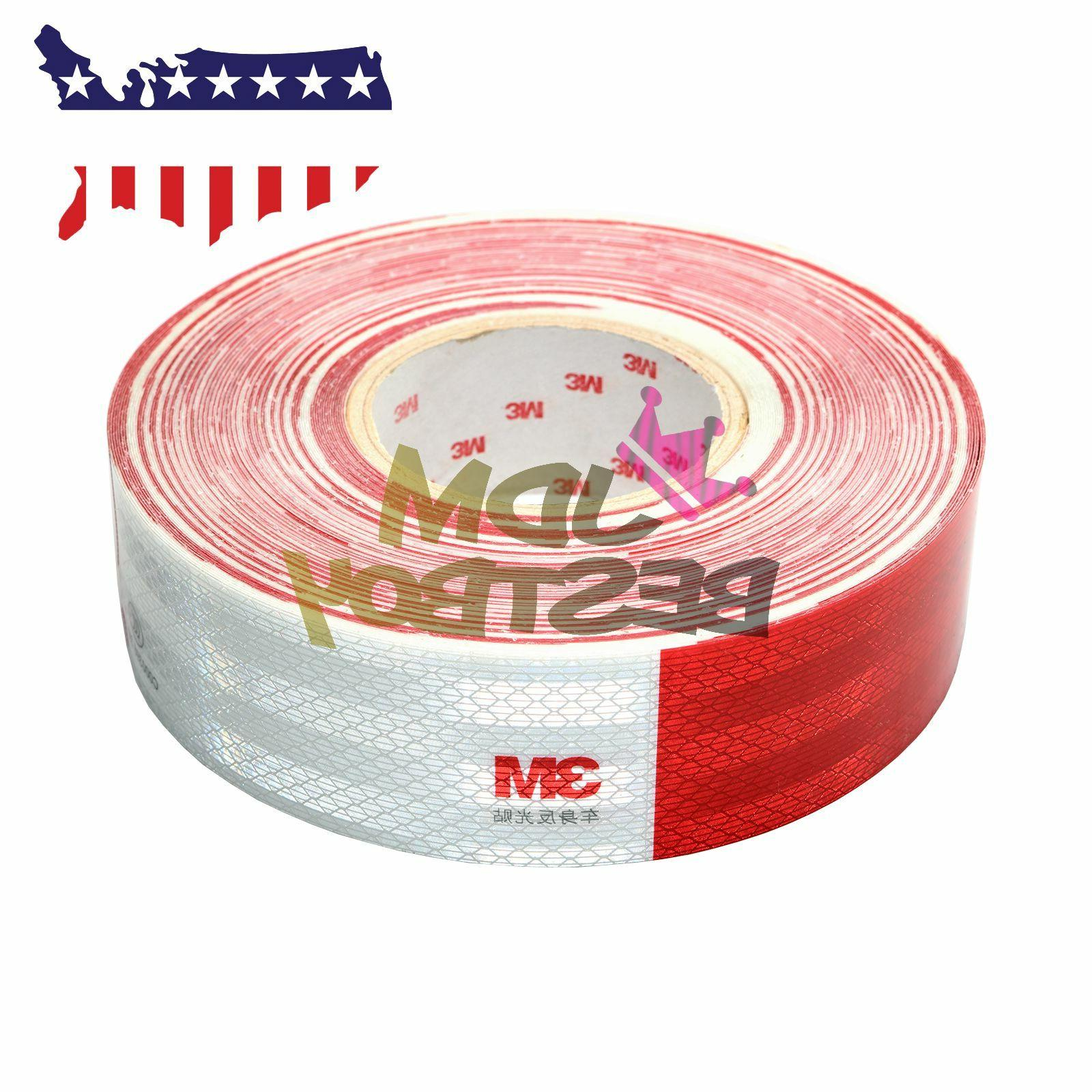 """*3M Red Tape 2""""x150' Reflective Safety"""