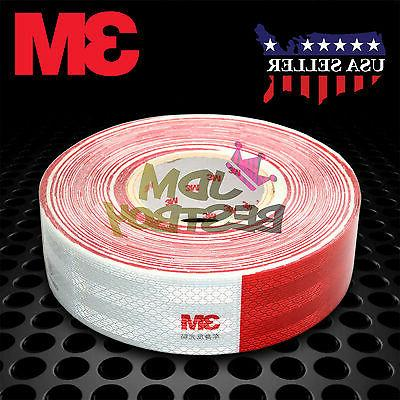 red white conspicuity tape 2 x150 ce