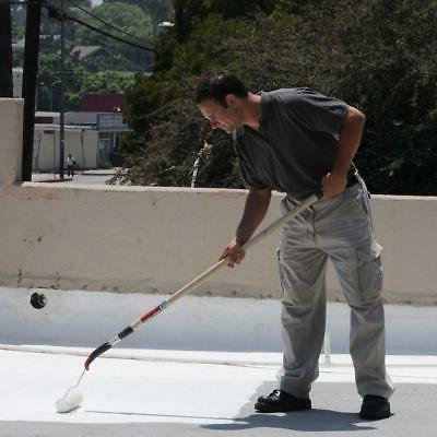 Roof Coating White 4.75 Gal. Home Metal Rolled