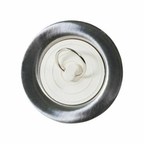 Stainless Tub Drain & Stopper for RV showers