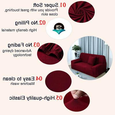 Stretch Chair Covers 1 Protector Loveseat Cover Slipcover