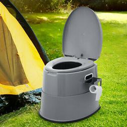 New 5L Portable Seat Toilet Home Potty Commode Travel Campin