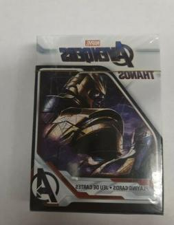 New/Sealed MARVEL AVENGERS THANOS Playing Cards 52 Card Deck