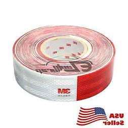 "3M Red White Conspicuity Tape 2""x150' CE Approved Reflective"