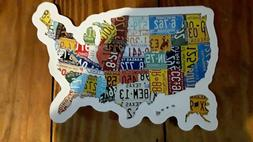 RV Bumper Stickers Decals & Magnets State United States Trav