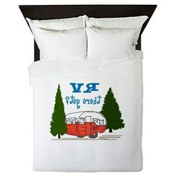 CafePress Rv There Yet? Queen Duvet