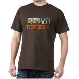 CafePress RV There Yet? T Shirt 100% Cotton T-Shirt